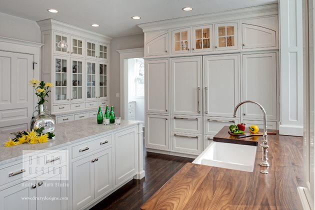 Classic White Kitchen classic white kitchens through the ages | drury design