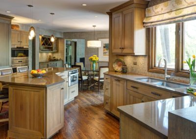 Chic Rustic Kitchen – Oak Brook, IL