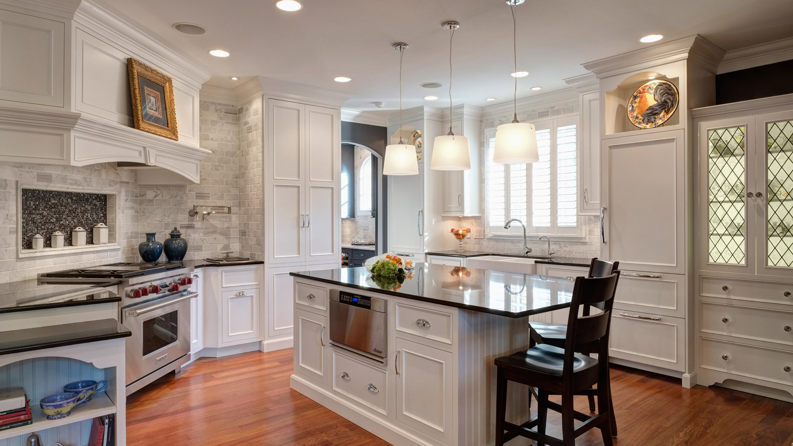 Interior Design Portfolio Kitchen And Bath Design Drury Design - Timeless kitchen design