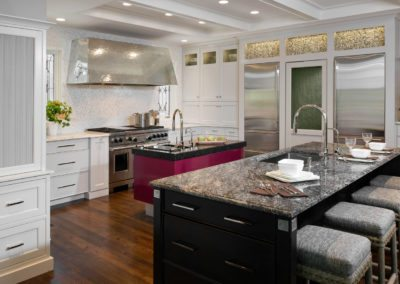 Unique and Detailed Winnetka Kitchen