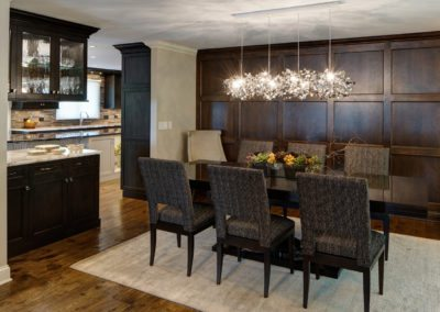 Transitional Oak Brook Dining Room Renovation