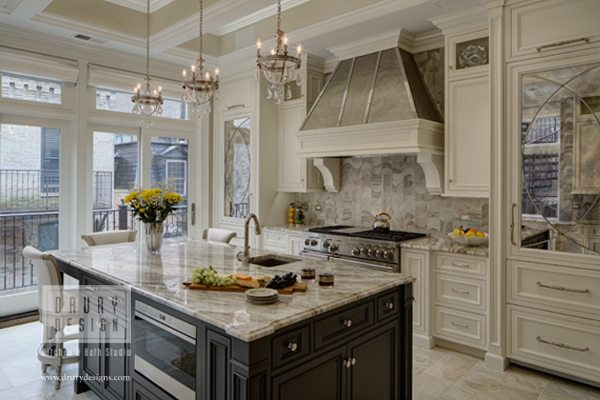 Chicago Gold Coast Traditional Home Renovation Drury Design