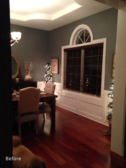 before remodel dining room picture Family Focused First Floor Remodel drury design