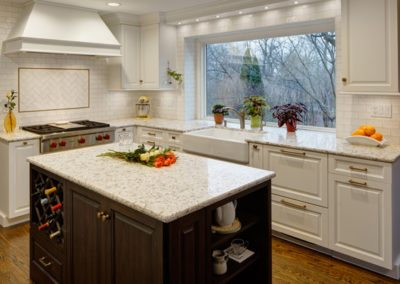 Glen Ellyn Two Cook Kitchen Design