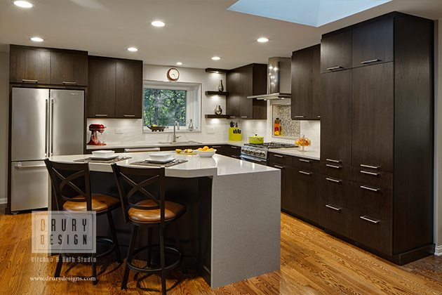 Painted Cabinets Vs Stained Cabinets Drury Design