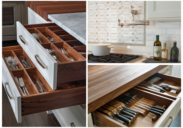 The Best Luxury Cabinetry Rutt HandCrafted Cabinetry Drury Design