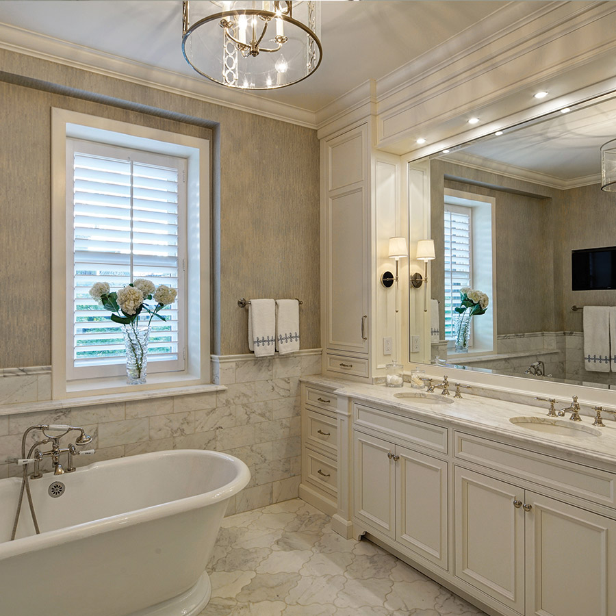 Traditional Bathroom Design - Drury Design