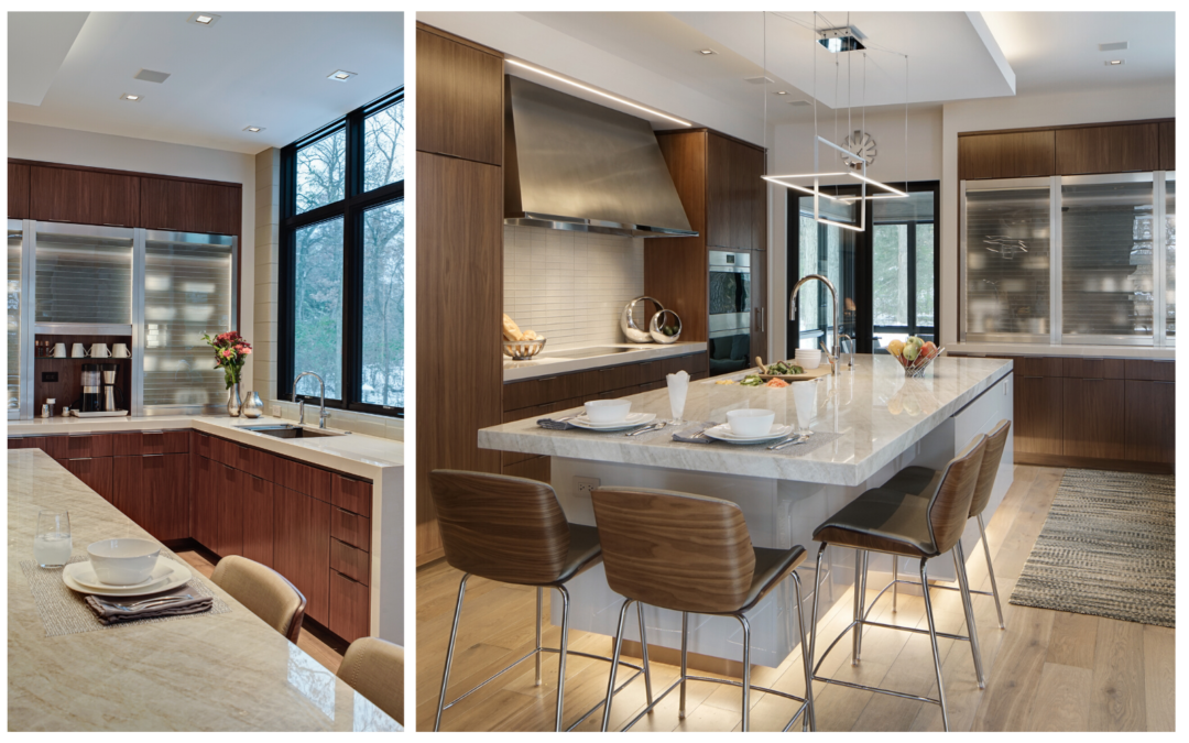 A Natural – West Suburban Contemporary New-Build Kitchen Design