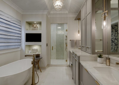Sophisticated Luxe Master Bath