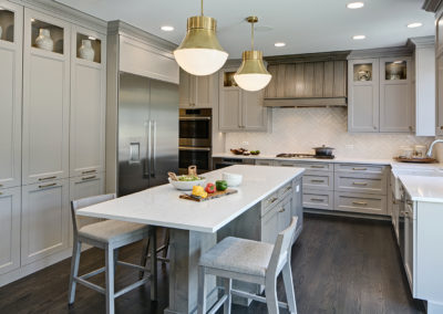 Classically Inspired Transitional Kitchen